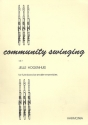 Community Swinging vol.1: for 4-7 flutes (piano/guitar ad lib) score