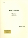 Lift-off for 3 percussionists playing 9 drums (percussion ensemble) score and parts