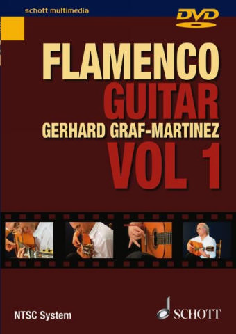 Flamenco guitar method vol.1 DVD-Video (NTSC-System)