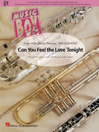 Can you feel the love tonight - for wind quintett with variable instrumentation,  score and parts Watkin, Andrew,  arr.