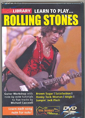 Learn to play Rolling Stones DVD-Video
