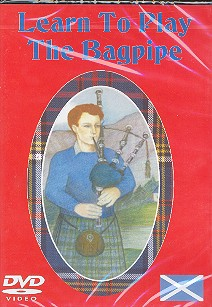 Learn to play the Bagpipe DVD-Video