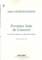 Premier solo de concert - for (valve) trombone or euphonium and piano
