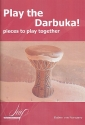 Play the Darbuka for 2-6 instruments score