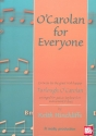 O'Carolan for Everyone - for guitar and keyboard (2 instrumnets) score