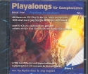 Playalongs für Saxophonisten - Pop/Rock Band 1 CD