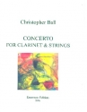 Concerto for clarinet and strings score+parts
