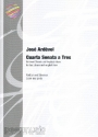 Cuarta sonata a tres - for 2 oboes and english horn score and parts