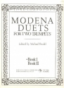 Modena Duets Book 1 for 2 trumpets score