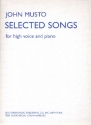 Selected Songs for high voice and piano