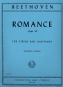 Romance op.50 - for string bass and piano