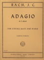 Adagio e minor - for double bass and piano