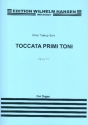 Toccata primi toni op.11 - for organ